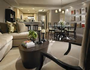 uncategorized lovely open space concept of living and dining room in small room with black