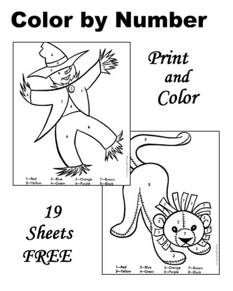 fall coloring pages color by number fall color by number printable color number free and