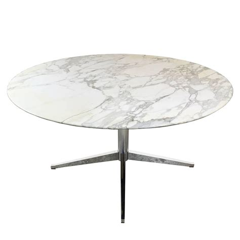 Marble Conference Table with Carrara Marble Dining Conference Table By Florence Knoll At 1stdibs