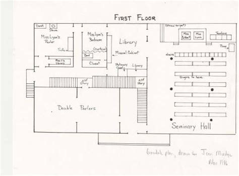 mount holyoke floor plans 17 best images about the seminary inside out on