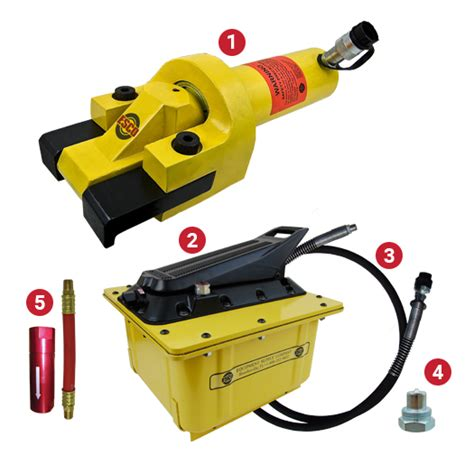 hydraulic bead breaker tire bead breaker kit 2 gallon hydraulic esco