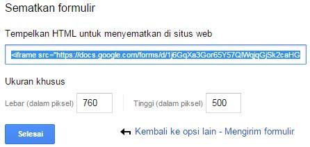 membuat web pendaftaran online cara membuat formulir pendaftaran online via google form