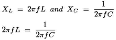 transpose inductive reactance formula standards