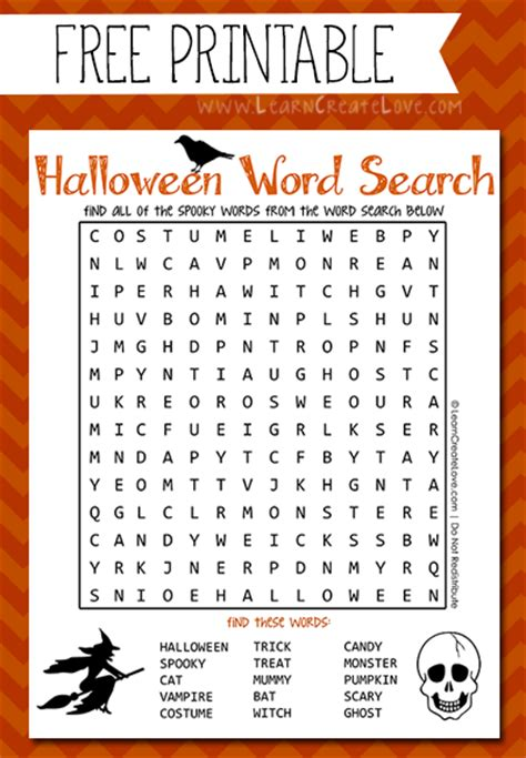 printable word games for 7 year olds printable halloween word search
