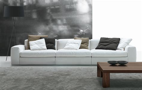 poliform couch vier oder mehrsitzer sofas sofa dune von poliform