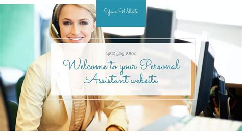 Exle 2 Personal Assistant Website Template Godaddy Personal Concierge Website Templates