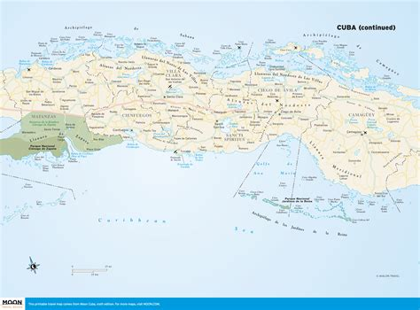 printable map varadero maps of cuba and havana printable maps from moon travel
