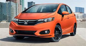 Honda Fit 2018 Honda Fit Debuts With New And Features Types Cars