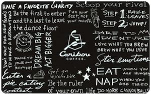 Caribou Coffee Gift Cards - gift cards hipchip