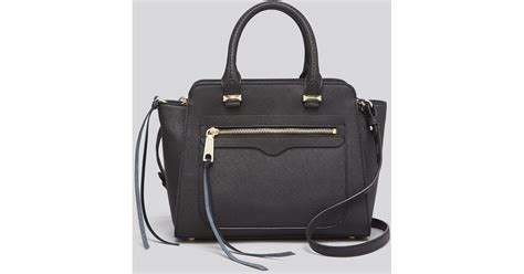 rebecca minkoff mini avery tote rebecca minkoff crossbody mini avery tote in black