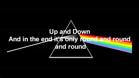 any color pink floyd us and them any colour you like lyrics