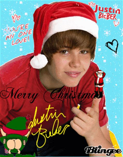 merry christmas justin bieber picture  blingeecom