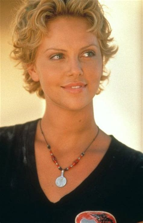 short old fashioned haircuts charlize theron sporting an charlize theron curly bob and bob cuts on pinterest