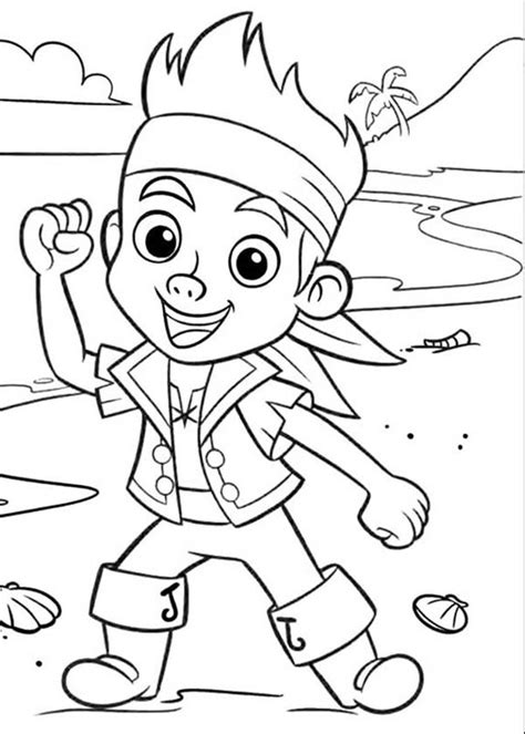 disney coloring pages jake and the neverland pirates free jake and the neverland pirates coloring pages to