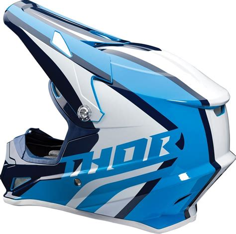 motocross helmet visor 109 95 thor sector ricochet dot approved mx motocross