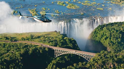 scenic helicopter flight victoria falls andbeyond