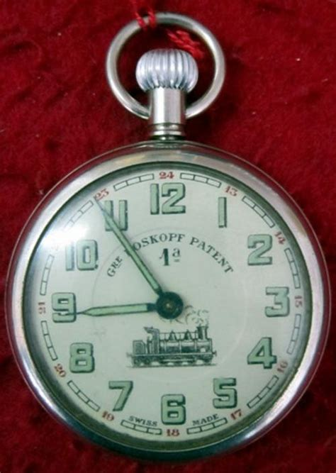 pocket watches gre roskopf patent 1a swiss made