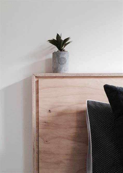diy plywood headboard 25 best ideas about plywood headboard on pinterest