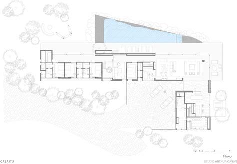Large House Floor Plans gallery of house in itu studio arthur casas 11