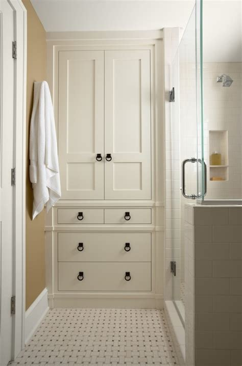 Built In Bathroom Cabinet Ideas » Home Design