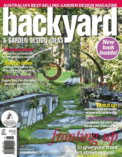 garden ideas magazine backyard garden design ideas australia vol 10 no 2