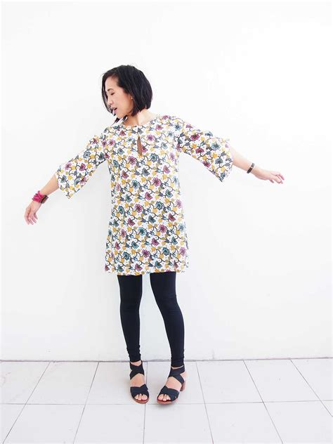 sewing pattern tunic dress tunic dress is this the best japanese sewing pattern
