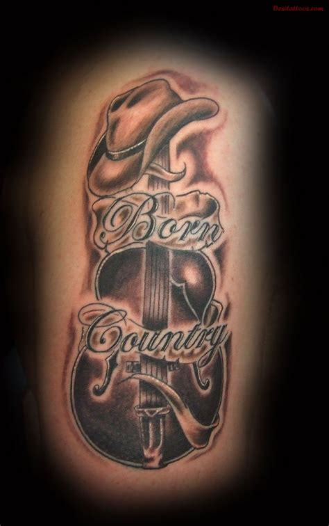 country boy tattoo designs country tattoos