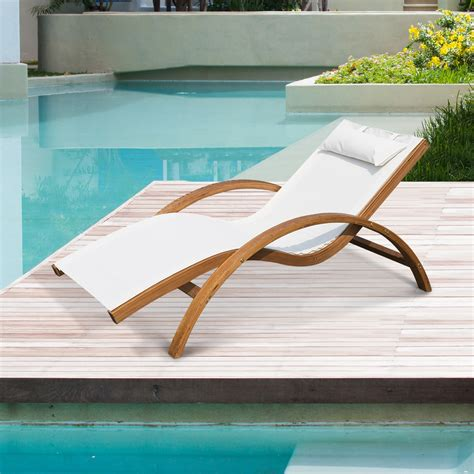 reclining lounger outdoor outsunny outdoor reclining mesh lounger chair w cushion