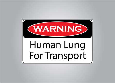 Witzige Aufkleber by Warning Human Lung Funny Cooler Sticker Sticker Fart