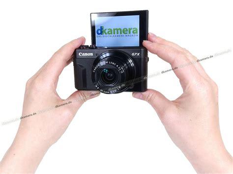 Kamera Canon G7 Ii die kamera testbericht zur canon powershot g7 x ii