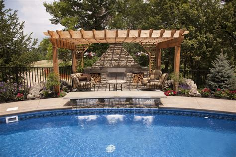 amazing backyard pools amazing backyard pool with waterfall interior design ideas