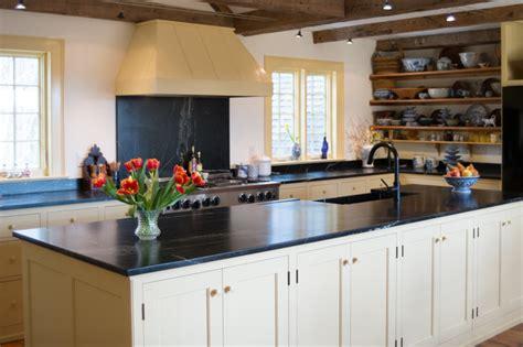 Soapstone Maine - maine seacoast farmstead traditional kitchen