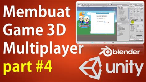 membuat game rpg dengan unity 3d membuat game 3d multiplayer unity photon part 4 33