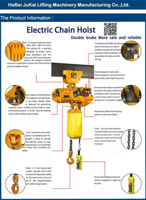 electric chain hoist wiring diagram free wiring