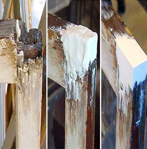 wood frame repair repair rotted door frame epoxy floors doors interior