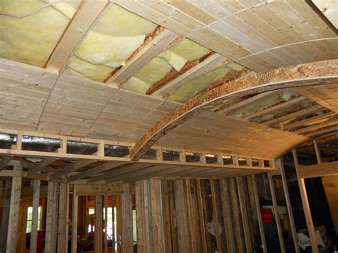 framing a dropped coffer ceiling homebuilding