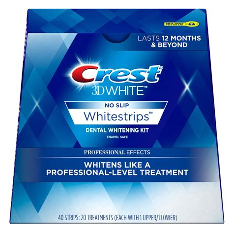 crest supreme whitening strips crest whitestrip supreme professional tooth whitening