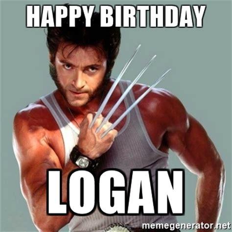 Wolverine Meme - happy birthday logan wolverine meme generator