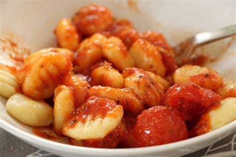 Easy Salad Recipe by Gnocchi With Tomato Sauce Recipe Dishmaps