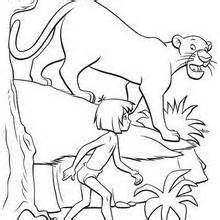 bagheera coloring pages drawing for kids videos for