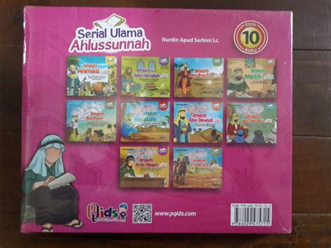 Kecil Kecil Berakhlak Rasulullah Buku Anak Muslim Limited buku anak serial ulama ahlussunnah edisi 10 imam toko