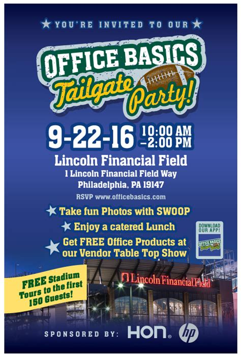 lincoln event parking office basics tailgate at lincoln financial field 9