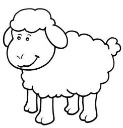 Galerry cartoon sheep coloring pages