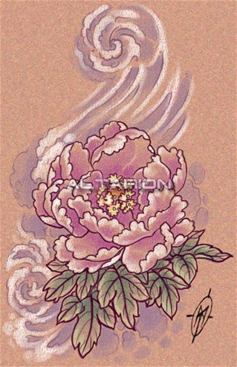 japanese peony tattoo designs 1000 ideas about japanese peony on