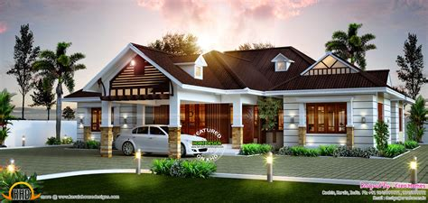 design bungalow online awesome single storied home kerala home design and floor