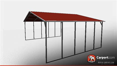 carport shop 26 x 21 wide open steel carport shop metal