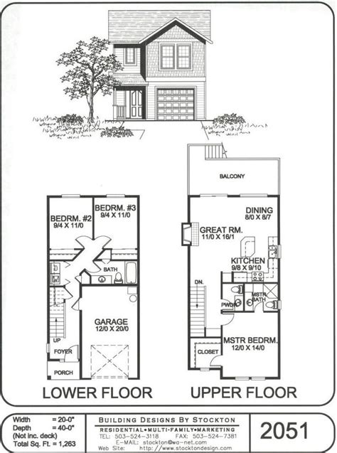 small two story house plans different idea with two bedrooms downstairs plans bedrooms cabin and attic