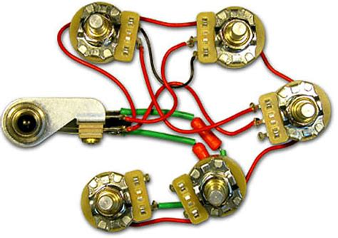 rickenbacker  control wiring harness assembly  volume