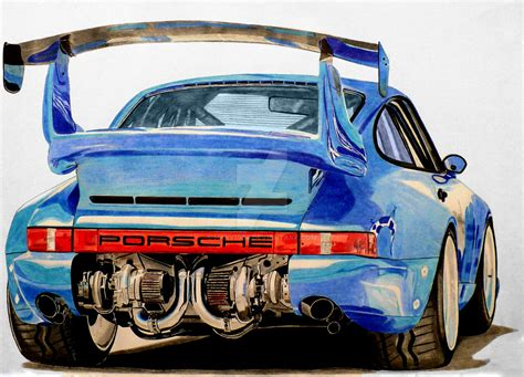bisimoto porsche 996 bisimoto porsche 911 turbo drawing by hary1908 on