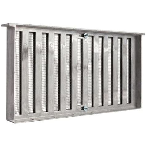 master flow grate style 16 in x 8 in die cast aluminum